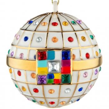 Designové vánoční ozdoby Palla di Fidanzamento
