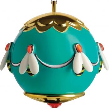 Designové vánoční ozdoby Ape dell'oro