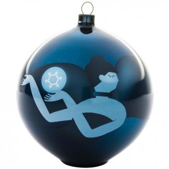 Designové vánoční ozdoby Blue Christmas 6