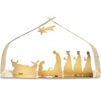 Designové vánoční betlémy Bark Crib