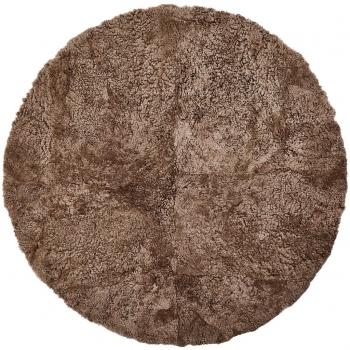 Designové kožešinové koberce New Zealand Sheepskin Rug Round