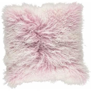Designové kožešinové polštáře Tibetan Sheepskin Snow Collection
