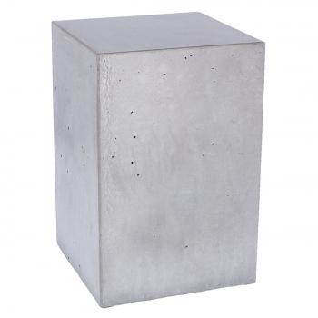 Designové odkládací stolky JAN-KURTZ Block Hocker Beton