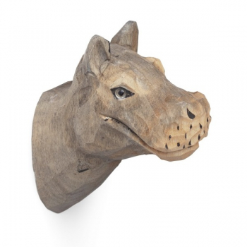 Designové nástěnné věšáky Animal Hippo