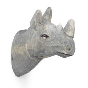 Designové nástěnné věšáky Animal Rhino