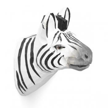 Designové nástěnné věšáky Animal Zebra