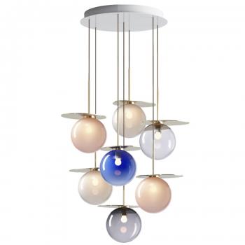 Designová závěsná svítidla Umbra Chandelier Round