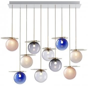 Designová závěsná svítidla Umbra Chandelier Square