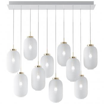 Designová závěsná svítidla Lantern Chandelier Square