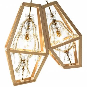 Designová závěsná svítidla Crystal