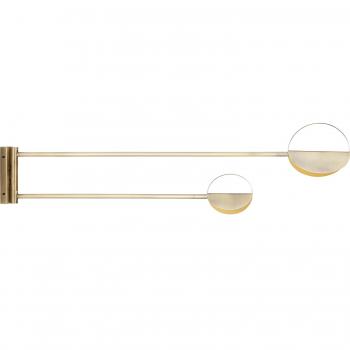 Designová nástěnná svítidla Leaves wall lamp