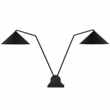 Designové stolní lampy Gear table double