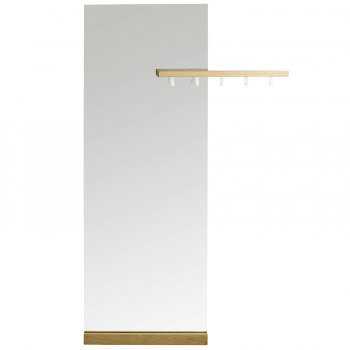 Designová zrcadla Shift Mirror Rectangular Coatrack
