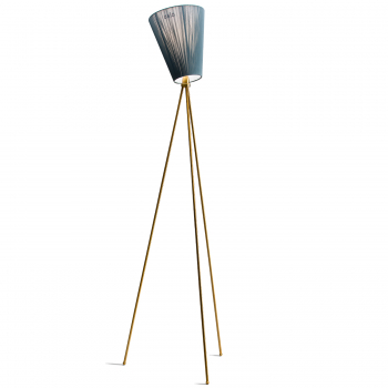Designové stojací lampy Oslo Wood