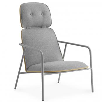 Designové židle NORMANN-COPENHAGEN Pad Lounge Chair High