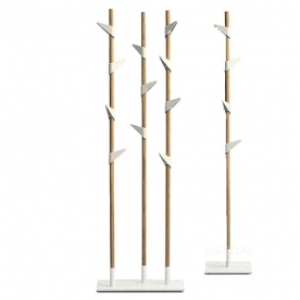 Designové stojanové věšáky Bamboo