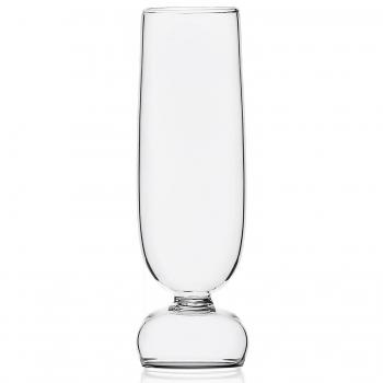 Designové sklenice na šampaňské Kokeshi Flute