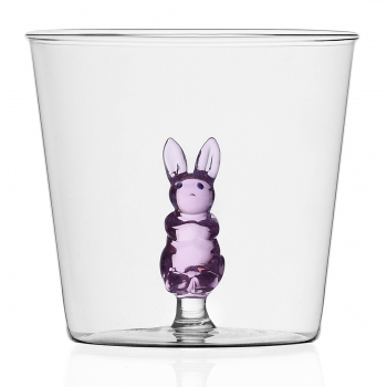 Designové sklenice na vodu Animal Farm Tumbler Rabbit