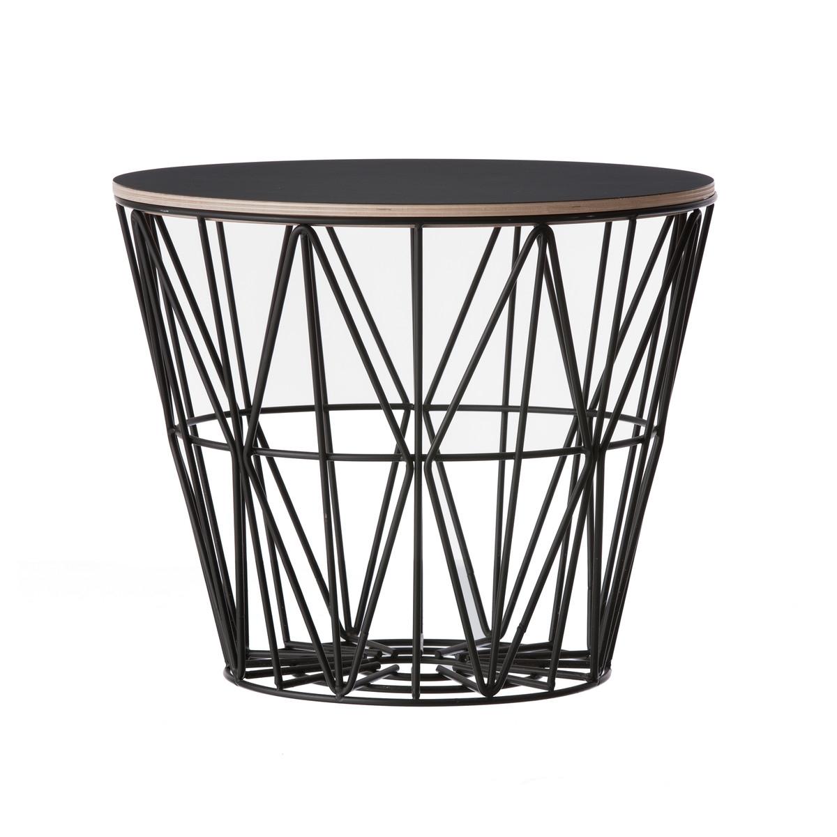Designové úložné koše Wire Basket