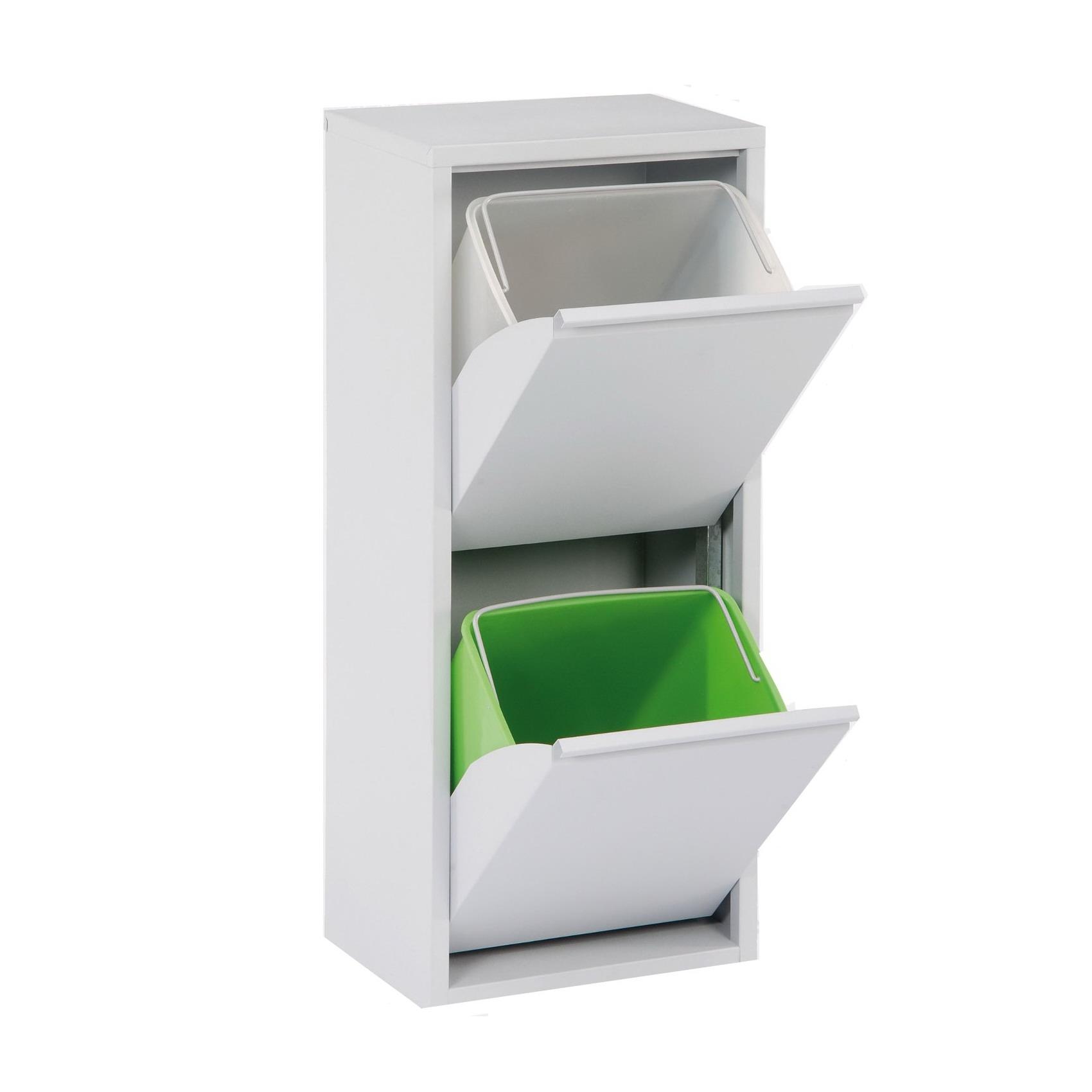 Designové odpakové koše na třídění odpadu Pat