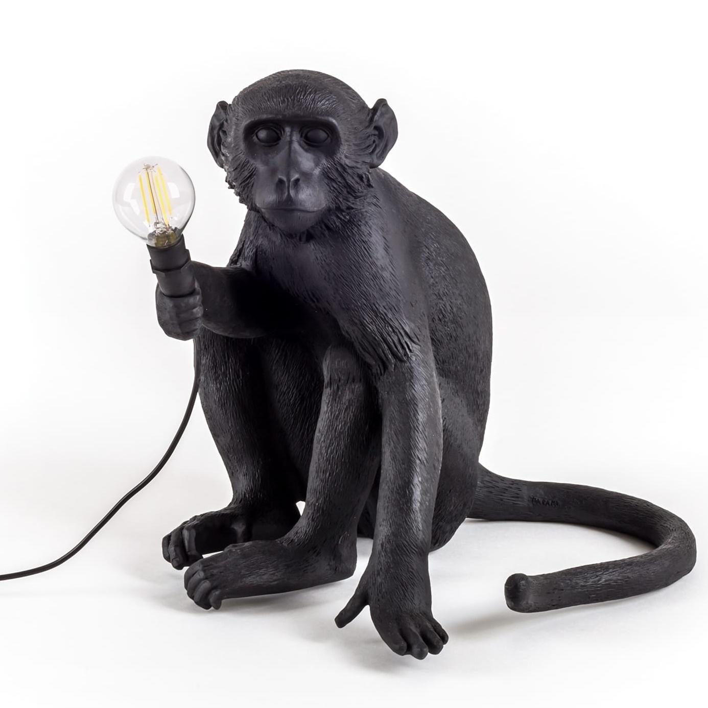 Designové stolní lampy Monkey Sitting
