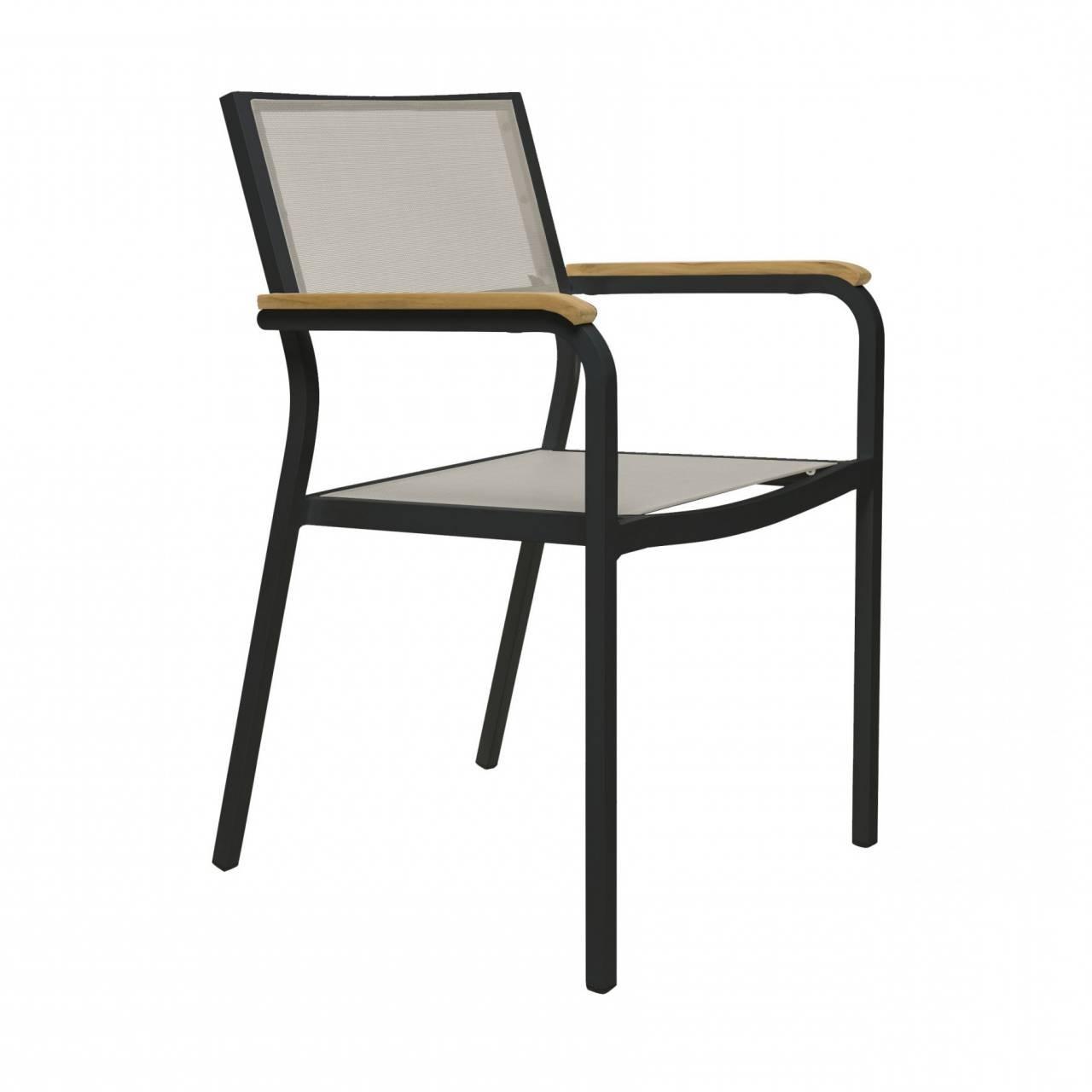 Designové zahradní židle Lux Alu
