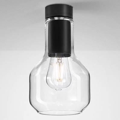 Designová stropní svítidla Modern Glass Barell