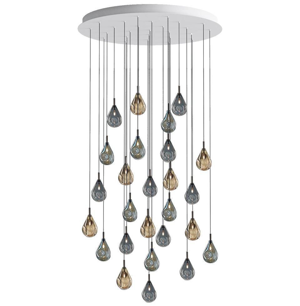 Designová závěsná svítidla Soap Mini Chandelier Round
